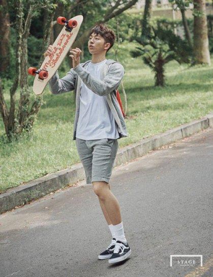 Nam Joo Hyuk YG Stage 2015 (3)